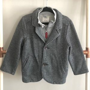 Boys knit blazer